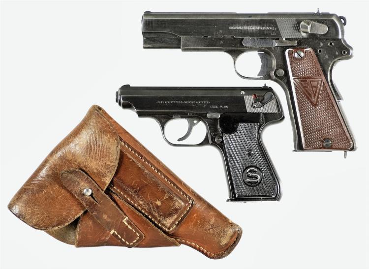 Two Semi-Automatic pistols -A) Radom VIS 35 Pistol