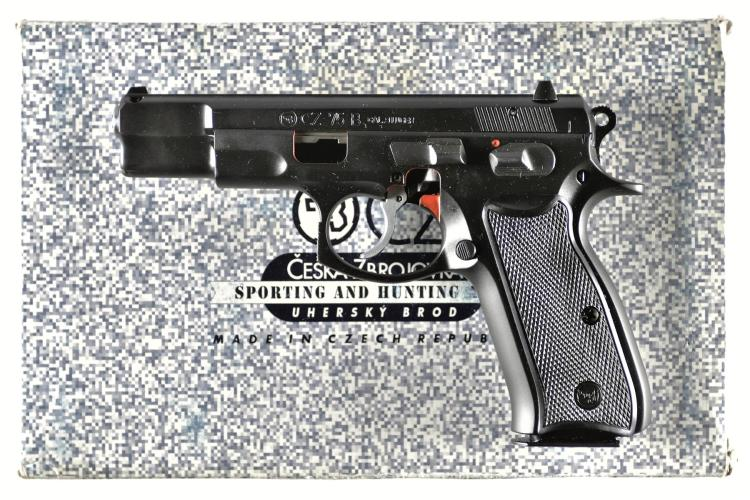 CZ Model 75 B Cut-Away Semi-Automatic Pistol with Matching Box
