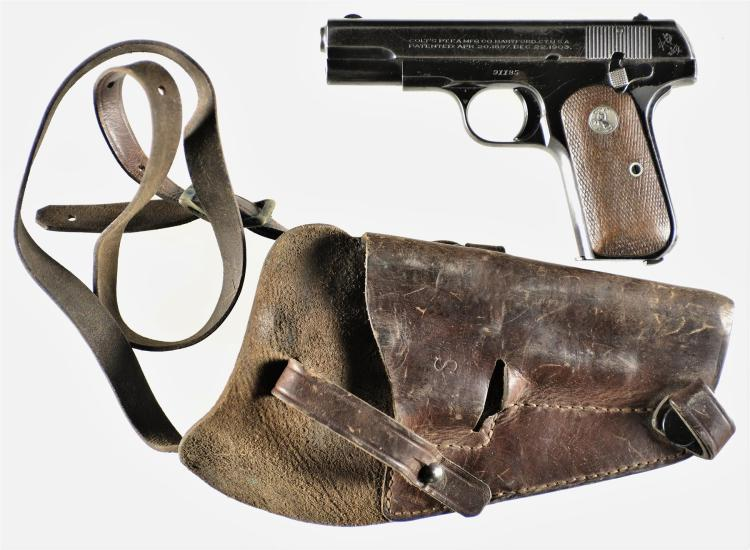 Colt Model 1908 Semi-Automatic Pistol with Holster