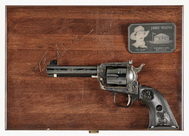 Colt Frontier Scout John Wayne The Duke Single Action Revolver with Case