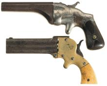 Two Antique American Derringers
