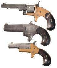 Three Colt Rimfire Handguns