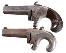 Two Antique Derringer Pistols