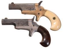 Two Colt Derringer Pistols