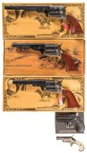 Three Revolvers and Two Derringers