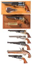 Seven Replica Black Powder Firearms