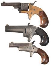 Three Colt Antique Handguns