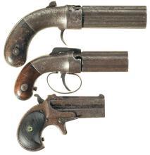 Three Antique Pistols