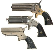 Three Pepperboxes