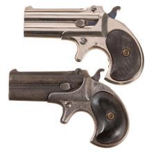 Two Remington Elliot Derringers