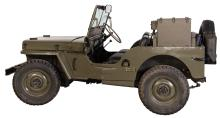Lot 4958: 1945 Style Production Military Style Ford GPW Jeep