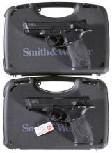 Two Smith & Wesson M&P 22 Semi-Automatic Pistols