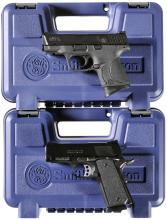 Two Smith & Wesson Handguns
