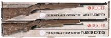 Two Ruger Bolt Action Rifles -A) Ruger American Model Rifle