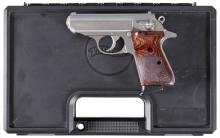 Walther/Smith & Wesson PPK/S Semi-Automatic Pistol with Matching