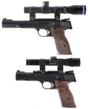 Two Smith & Wesson Model 41 Semi-Automatic Pistols