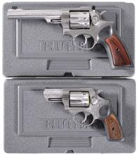 Two Ruger Double Action Revolvers