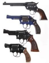 Four Revolvers -A) Ruger Single-Six Single Action Revolver