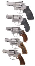 Five Double Action Revolvers -A) Ruger Security-Six Revolver
