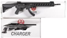 One Ruger Handgun And One Ruger Long Gun