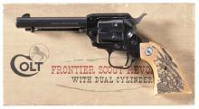 Colt Frontier Scout '62 Single Action Revolver