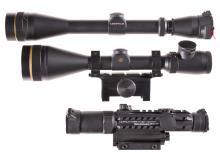 Three Leupold Rifle Scopes