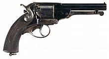 Historic London Armoury Kerr's Patent Percussion Single Action Revolver Presented to Given Campbell by Confederate President Jefferson Davis on May 4, 1865 During His Flight from Richmond with Civil War Diary and Documentation