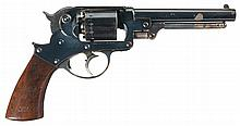 Outstanding Civil War U.S. Contract Starr Arms Co., Model 1858 Army Double-Action Revolver