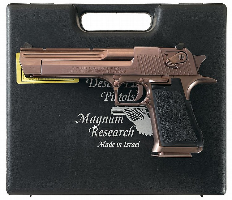 Shooting the Desert Eagle .44 Magnum - GunsAmerica Digest | 647x750