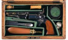 Exceptional London Cased Colt Model 1855 Sidehammer Pocket