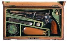 Cased Colt Model 1855 Sidehammer Percussion Pocket Revolver