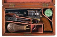Cased Colt Pocket Navy Caliber Percussion Revolver