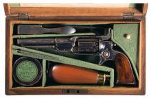 Cased Colt New Model Pocket Percussion Revolver