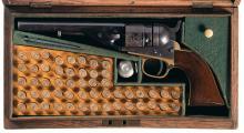 Colt Round Barrel Model 1862 Pocket Navy Cartridge Revolver