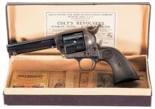 1st Gen. Colt Single Action Army Revolver, Box & Factory Letter