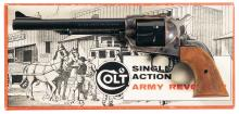 Colt New Frontier Single Action Army Revolver with Box