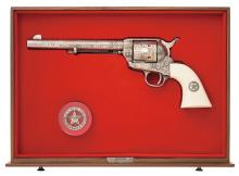 Colt Texas Ranger Commemorative Single Action Army with Case
