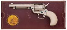 George Spring Engraved Colt Single Action Army Revolver