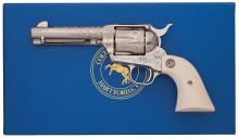 Robert Burt Master Engraved Colt Single Action Army Revolver