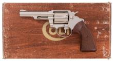 Nickel Plated Colt Viper Double Action Revolver with Box