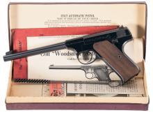 First Series Pre-War/Post-War Colt Woodsman Pistol with Box