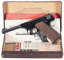 Colt First Series Woodsman Sport Model Pistol with Box