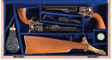 Two Cased Colt U.S. Cavalry Commemorative Percussion Revolvers