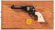 Cased John Wayne Commemorative Colt Single Action Army Revolver