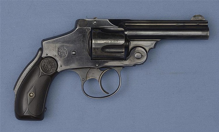 Smith & Wesson Safety Hammerless Model Double Action