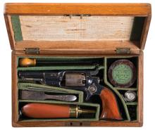 Scarce London Proofed and British Cased Colt Model 1855