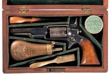 Cased Colt Model 1855 Sidehammer Pocket Percussion Revolver