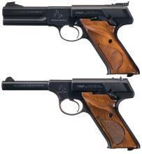 Two Colt Semi-Automatic Sporting Pistols