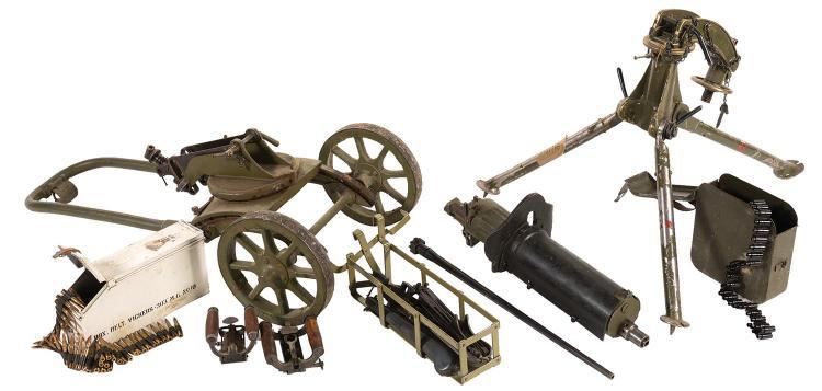 maxim machine gun parts