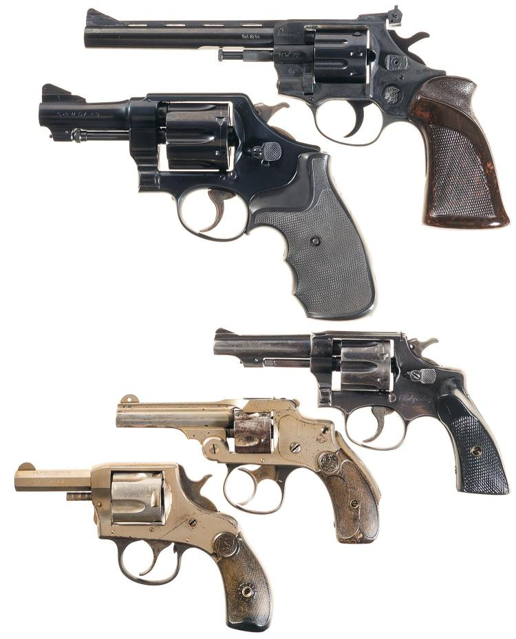 Five Double Action Revolvers -A) Arminius Model HW7 Revolver